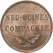 1 Pfennig - Wilhelm II – obverse