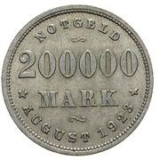 200 000 Mark (Hamburg) [Freie und Hansestadt] – reverse