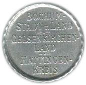 10 Pfennig (Bochum, Gelsenkirchen, Hattingen) [Stadt, Westfalen] – obverse
