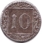 10 Pfennig (Münster in Westfalen) [Stadt, Westfalen] – reverse