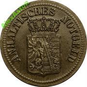 25 Pfennig (Anhalt) [Herzogtum bzw. Freistaat] – obverse