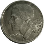 50 Pfennig (Marbach am Neckar) [Amtskörperschaft, Württemberg] – reverse