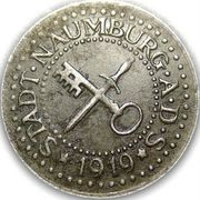 10 Pfennig (Naumburg an der Saale) [Stadt, Provinz Sachsen] – obverse