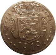 10 Pfennig (Zweibrücken) [Stadt, Pfalz] – reverse