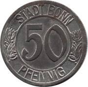50 Pfennig (Bonn) [Stadt, Rheinprovinz] – obverse