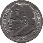 50 Pfennig (Bonn) [Stadt, Rheinprovinz] – reverse