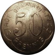 50 Pfennig (Gräfrath) [Stadt, Rheinprovinz] – obverse
