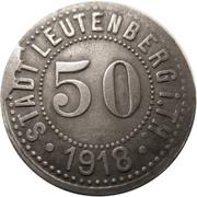 50 Pfennig (Leutenberg in Thüringen) [Stadt, Schwarzburg-Rudolstadt] – obverse