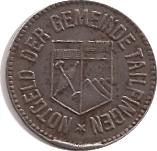 50 Pfennig (Tailfingen) [Stadt, Württemberg] – obverse