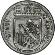 50 Pfennig (Elberfeld) [Stadt, Rheinprovinz] – obverse