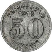 50 Pfennig (Elberfeld) [Stadt, Rheinprovinz] – reverse