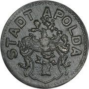 50 Pfennig (Apolda) [Stadt, Sachsen-Weimar-Eisenach] – obverse
