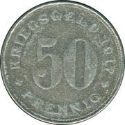 50 Pfennig (Wattenscheid) [Stadt, Westfalen] – reverse