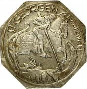 50 Pfennig (St Georgen im Schwarzwald) [Stadt, Baden] – reverse