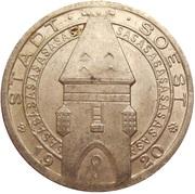 25 Pfennig (Soest) [Stadt, Westfalen] – obverse