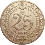 25 Pfennig (Soest) [Stadt, Westfalen] – reverse
