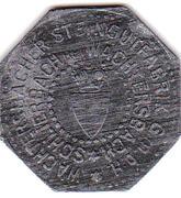 10 Pfennig (Schlierbach) [Private, Hesse-Nassau, Steingutfabrik GmbH] – obverse