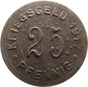 25 Pfennig (Münster in Westfalen) [Stadt, Westfalen] – reverse