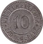 10 Pfennig (Bad Neuenahr) [Private, Rheinprovinz, Wilhelm Broicher] – obverse