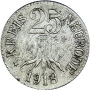 25 Pfennig (Neurode) [Kreis, Schlesien] – obverse