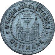 50 Pfennig (Mettmann) [Private, Rheinprovinz, Wagner & Englert GmbH] – reverse