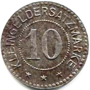 10 Pfennig (Ettenheim) [Stadt, Baden] – reverse