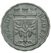50 Pfennig (Hagen) [Stadt, Westfalen] – obverse