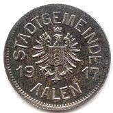 10 Pfennig (Aalen) [Stadt, Württemberg] – obverse