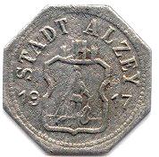 10 Pfennig (Alzey) [Stadt, Hessen] – obverse