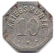 10 Pfennig (Alzey) [Stadt, Hessen] – reverse