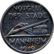 5 Pfennig (Mannheim) [Stadt, Baden] – obverse