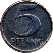 5 Pfennig (Mannheim) [Stadt, Baden] – reverse