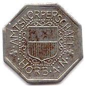 10 Pfennig (Horb am Neckar) [Amtskörperschaft, Württemberg] – obverse