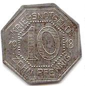10 Pfennig (Horb am Neckar) [Amtskörperschaft, Württemberg] – reverse