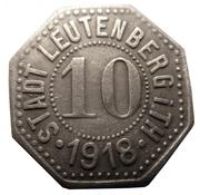 10 Pfennig (Leutenberg in Thüringen) [Stadt, Schwarzburg-Rudolstadt] – obverse