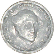 75 Pfennig (Aachen) [Stadt, Rheinprovinz] – reverse