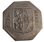 10 Pfennig (Mengen) [Stadt, Württemberg] – obverse