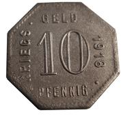 10 Pfennig (Mengen) [Stadt, Württemberg] – reverse