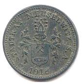 10 Pfennig (Meuselwitz) [Stadt, Sachsen-Altenburg] – obverse