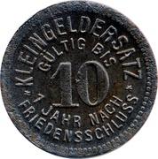 10 Pfennig (Meuselwitz) [Stadt,  Sachsen - Altenburg] – reverse
