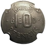 10 Pfennig (Neuburg an der Donau) [Stadt, Bayern] – reverse
