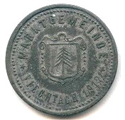 10 Pfennig (Viechtach) [Marktgemeinde, Bayern] – obverse