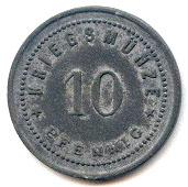 10 Pfennig (Viechtach) [Marktgemeinde, Bayern] – reverse