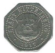 10 Pfennig (Wittenberg) [Stadt, Provinz Sachsen] – obverse