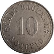 10 Pfennig (Backnang) [Stadt, Württemberg] – obverse