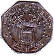 10 Pfennig (Tübingen) [Stadt, Württemberg] – obverse