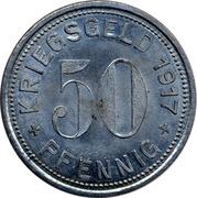 50 Pfennig (Mettmann) [Kreisverwaltung, Rheinprovinz] – reverse