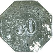 50 Pfennig (Pirmasens) [Stadt, Pfalz] – reverse