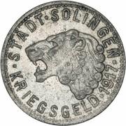 50 Pfennig (Solingen) [Stadt, Rheinprovinz] -  obverse
