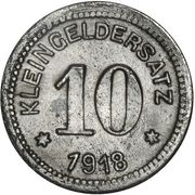 10 Pfennig (Querfurt) [Stadt, Provinz Sachsen] – reverse